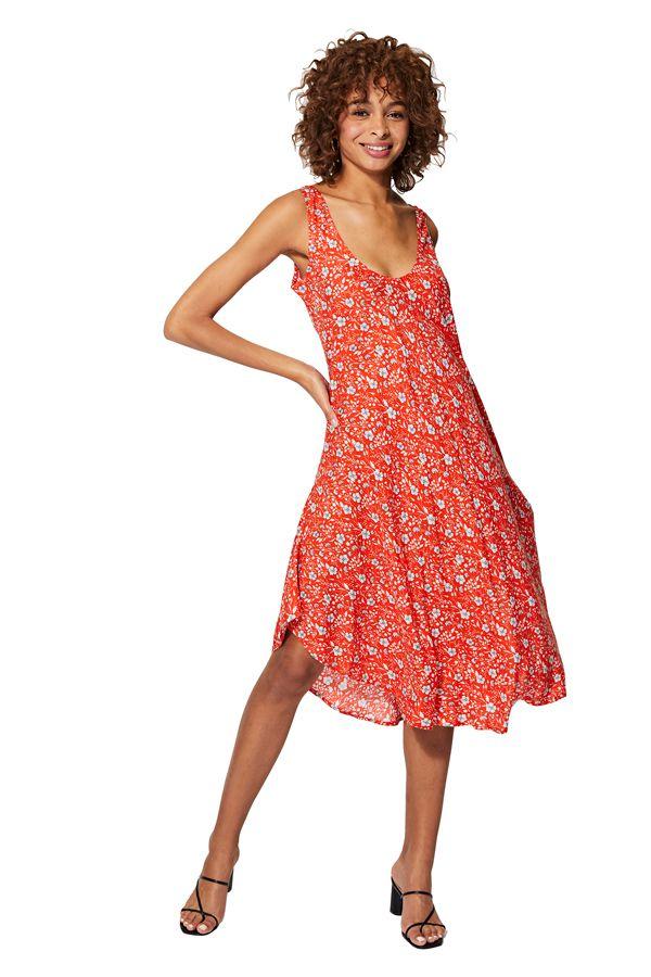 Robe de plage longue d\'été femme mode bohème chic Frederika
