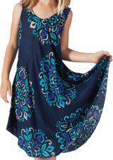Robe de Plage pour fille Colorée Bleue Marine Penny 280207
