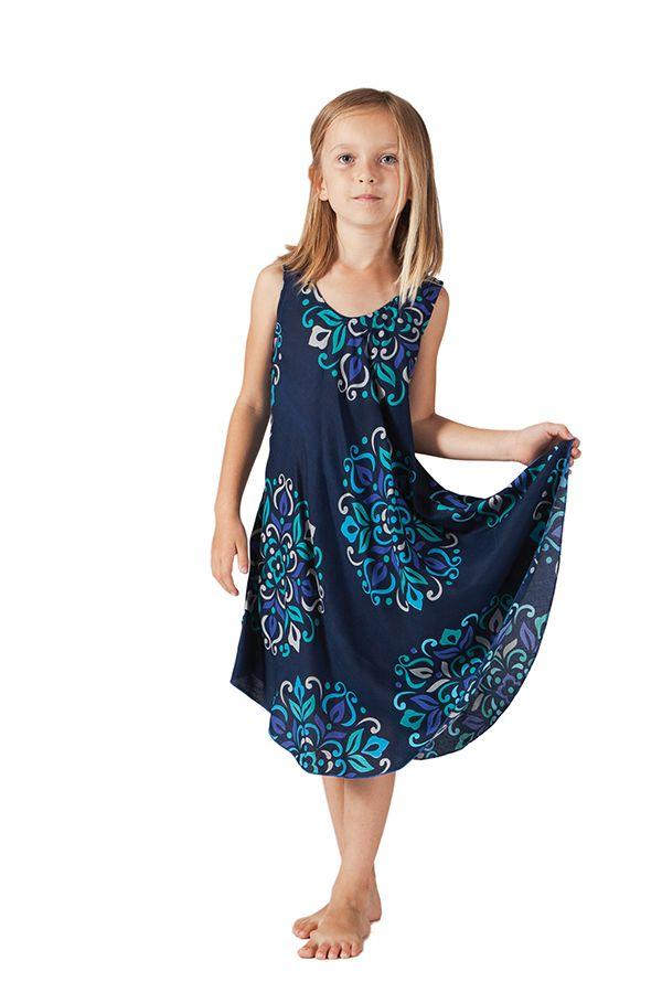 Robe de Plage pour fille Colorée Bleue Marine Penny 280208