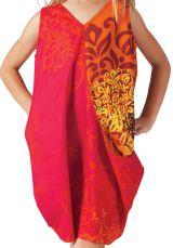 Robe de plage pour Fille Sally Ethnique et Fantaisie Rouge 279873