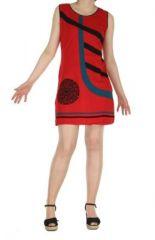 Robe de plage rouge Fiona 268918