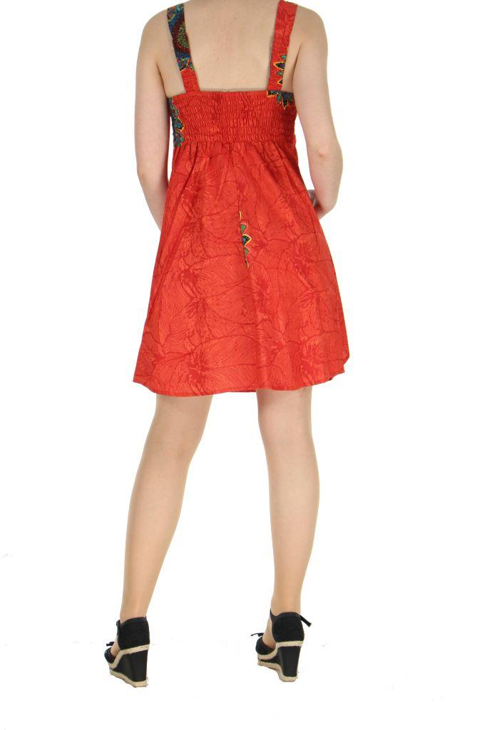 Robe de plage rouge Ondie 268027
