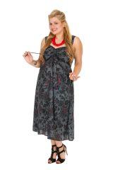 Robe de soirée fleurie femme grande taille Lounyma 309263