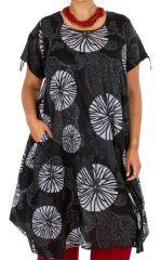 Robe décontractée en coton femme grande taille Amany 312972