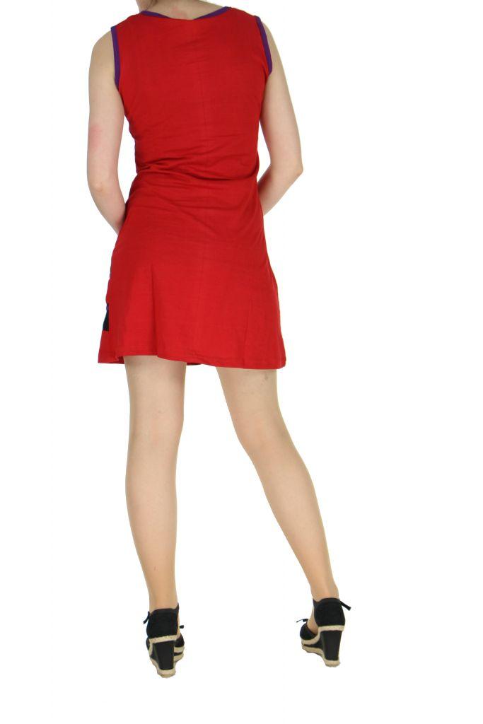 Robe du Népal rouge Florina 268329