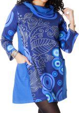 Robe effet col roulé pour femme Pulpeuse Originale et Colorée Hindy 286699