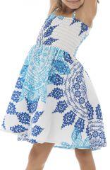 Robe ehnique à bretelles réglable et imprimé mandalas Holly 294585