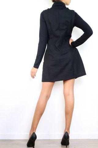 Robe en laine hiver style originale et colorée Sania 302626