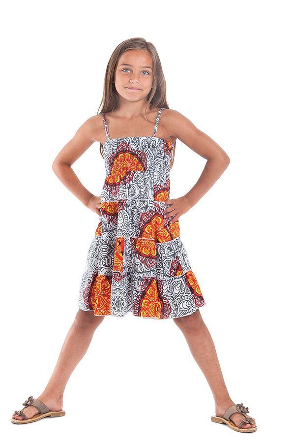 robe enfant blanche et lumineuse BIS9 280495