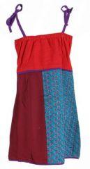 Robe ethnique et colorée enfant rouge Hippie 270992