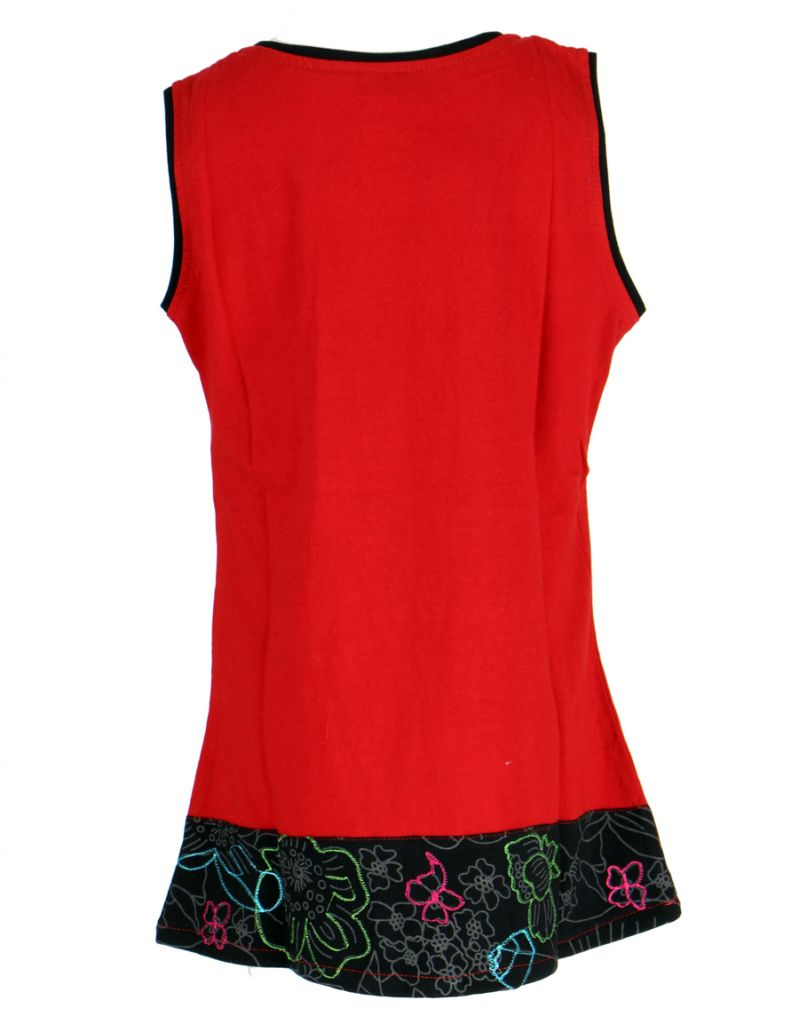 Robe ethnique fille rouge Ofelia 268591