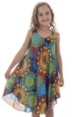robe Ethnique pétillante et colorée pour enfant Marie-Sophie 295784
