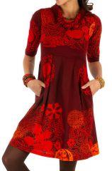Robe ethnique pour femme pas chère et colorée Ana 315563