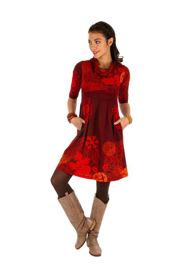 Robe ethnique pour femme très tendance 2020 et colorée Ana 312641