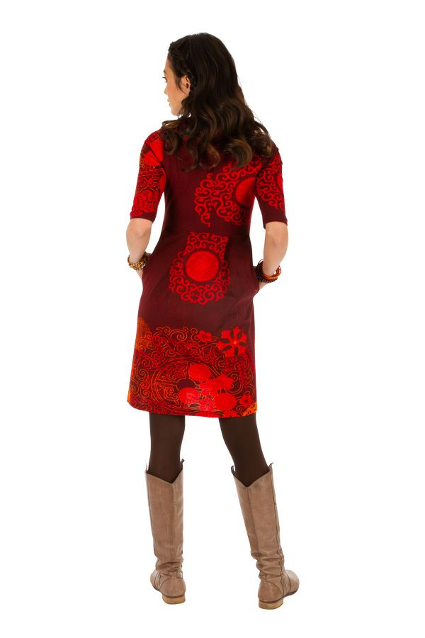 Robe ethnique pour femme très tendance 2020 et colorée Ana 312642