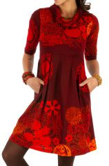 Robe ethnique pour femme très tendance 2020 et colorée Ana 312643