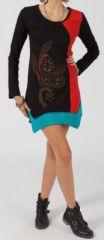 Robe ethnique tunique originale pas chère asymétrique Maude