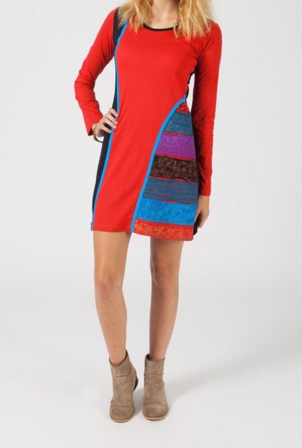 Robe ethnique tunique originale pas chère Emy 318790