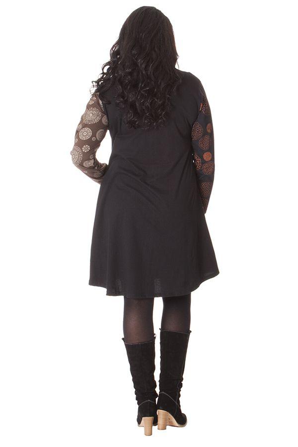Robe évasée en grande taille Ethnique et Colorée Presley 286118