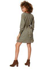 Robe évasée et courte pour femme tendance pastel chic Kiana