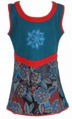 Robe fantaisie bleue pour fille Queen 269541