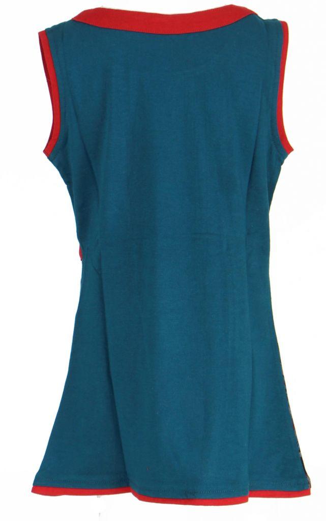 Robe fantaisie bleue pour fille Queen 269542