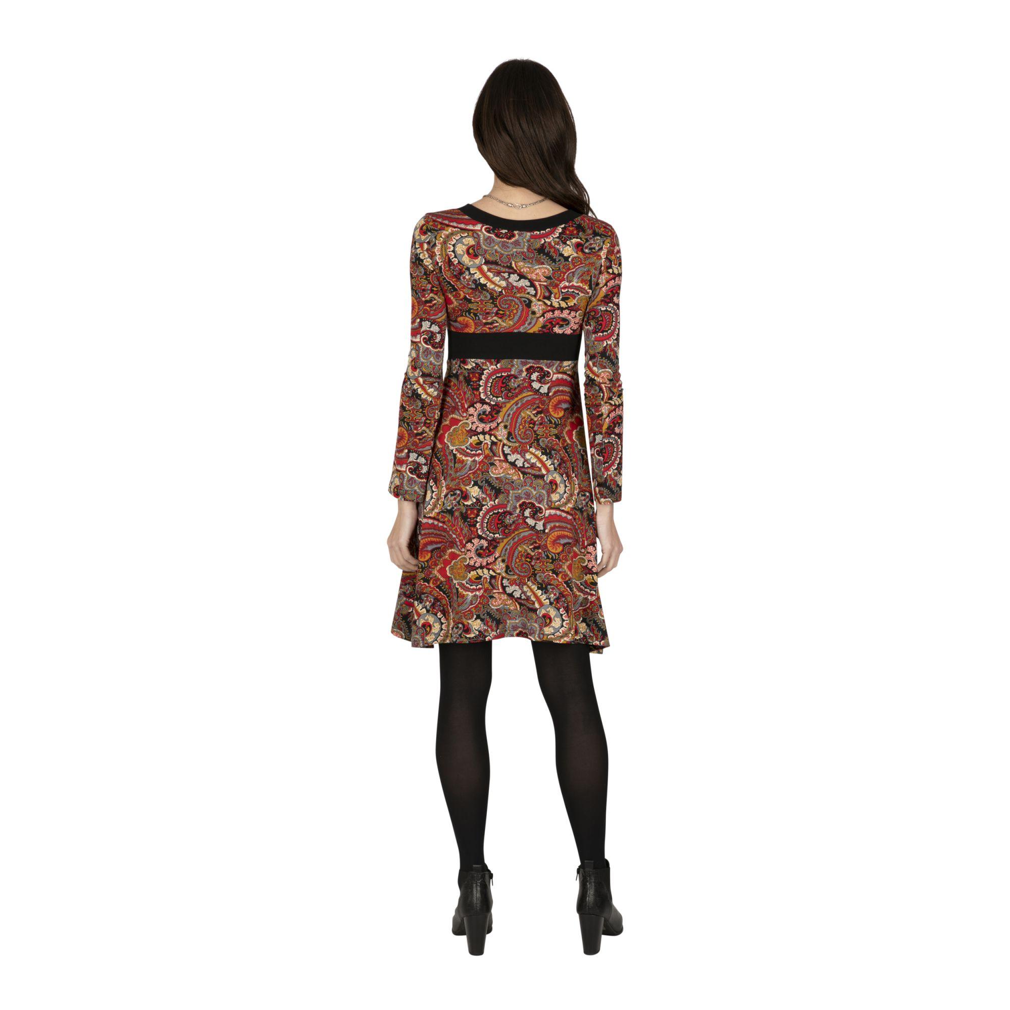 Robe femme à imprimé original Japonaisa
