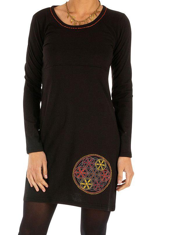 Robe femme courte originale et issue du Népal Alexandrie 314056