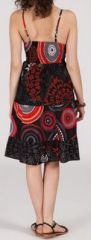 Robe femme d'été - ethnique et originale - noire - Garcia 271843