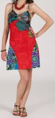 Robe femme d'été courte - ethnique et originale - Natalina 271910