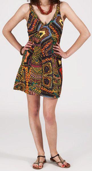 Robe femme d'été courte - ethnique et pas chère - Speranza 271953