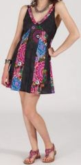 Robe femme d'été courte - ethnique et pas chère - Tosca 271951