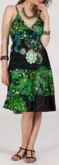 Robe femme d'été originale à col V Alice 271826
