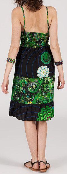 Robe femme d'été originale à col V Alice 271827