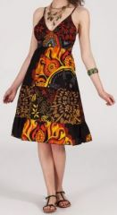Robe femme d'été originale à col V Daisy 271829