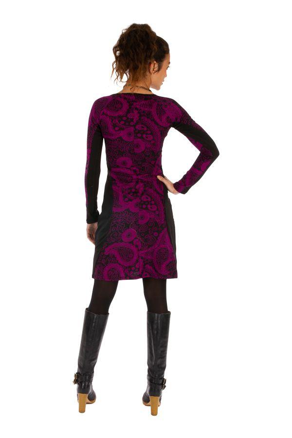 Robe femme d'hiver colorée et très féminine London 312672