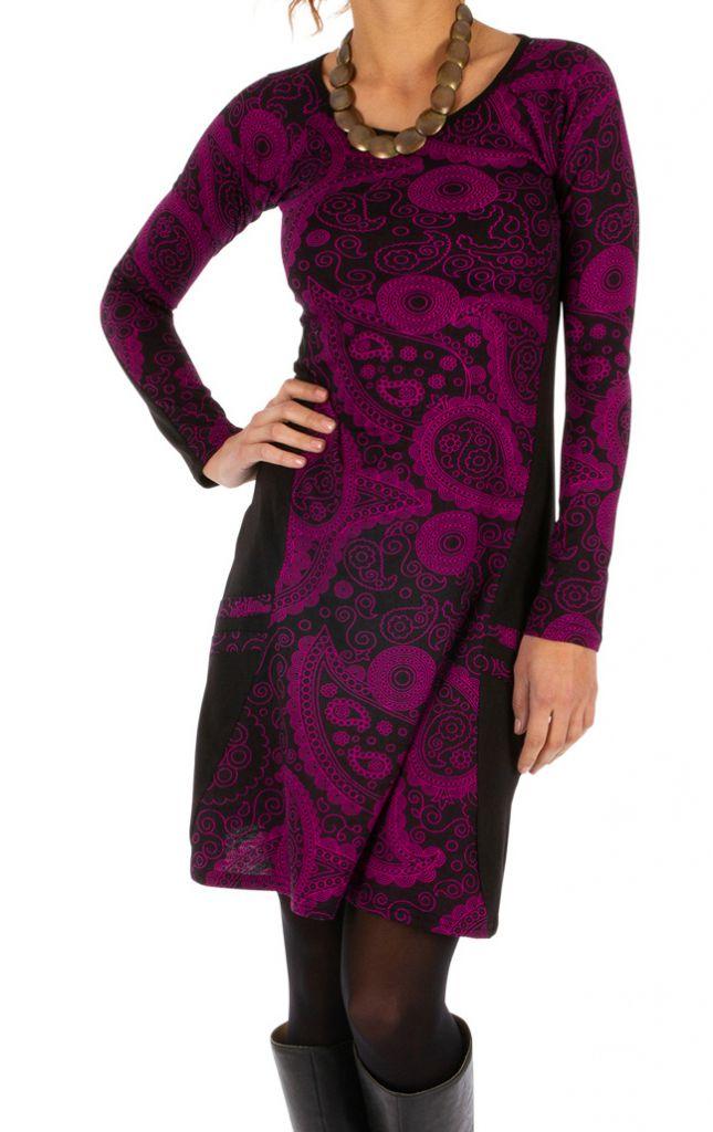 Robe femme d'hiver colorée et très féminine London 312673