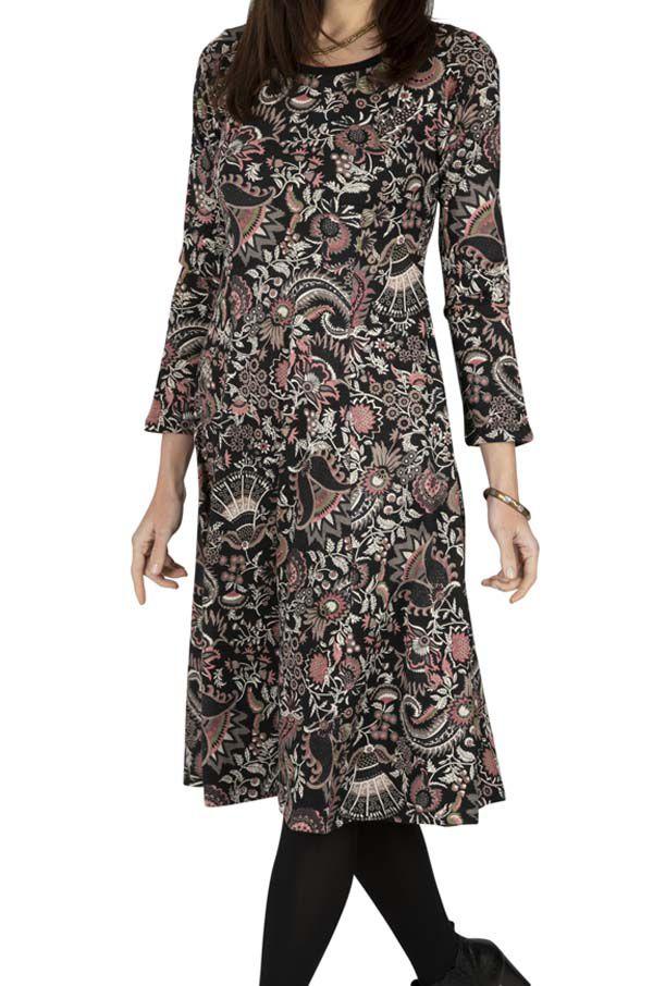 Robe femme hiver manches longues pas chère Rutongo