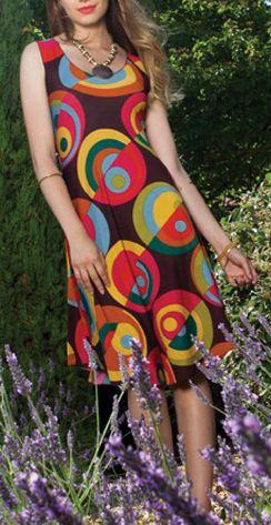 Robe femme mi-longue pour un été en couleur Lucine 4 271789
