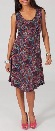 Robe femme mi-longue pour un été en couleur Lucine 5 271790