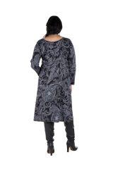 Robe femme réveillon imprimée baroque original 300616