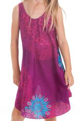 Robe Fuchsia pour fille de Plage et Colorée Penny 280152