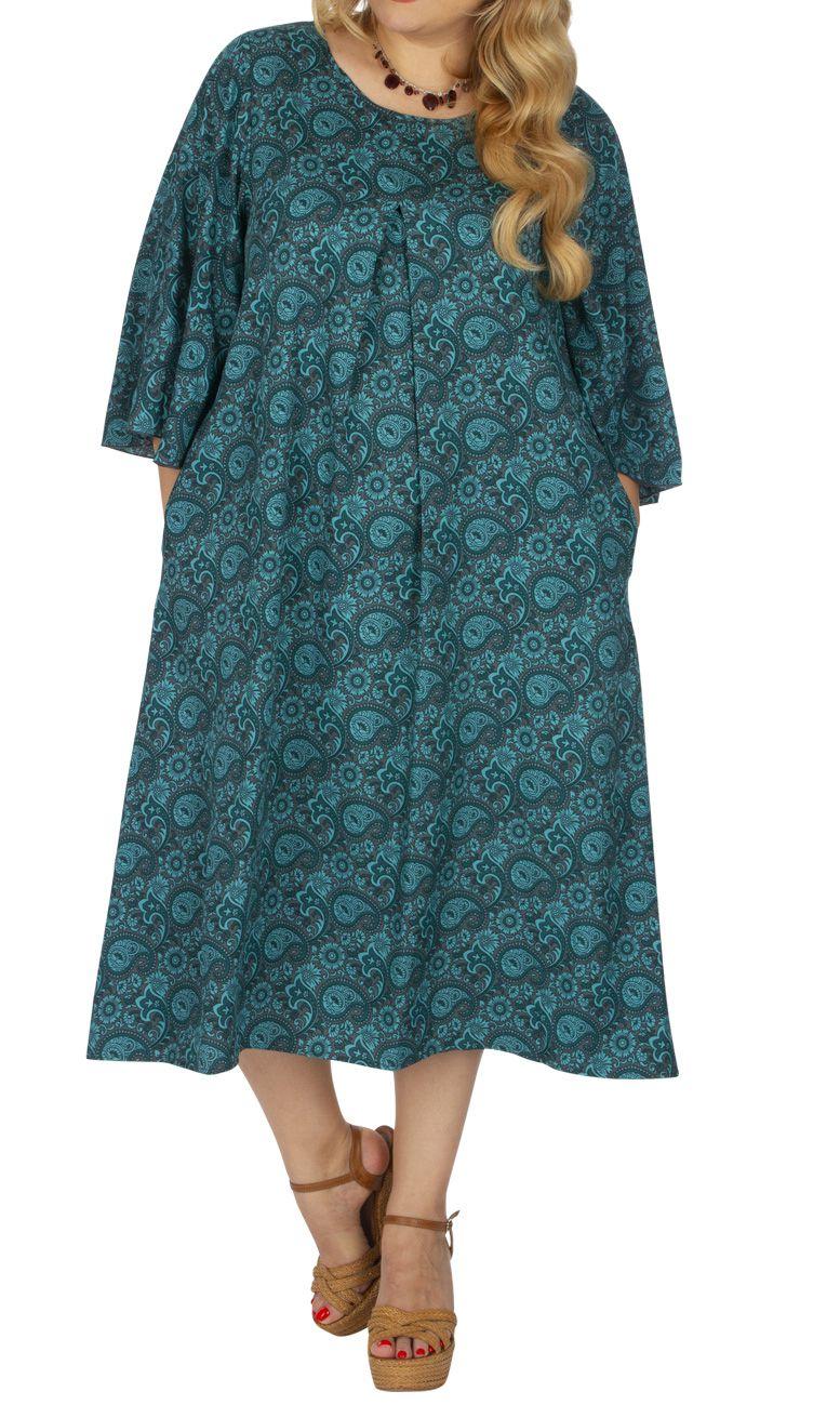 Robe Grande Taille Femme Ample Et Legere Style Boheme Ava