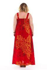 Robe grande taille d'été très féminine originale Assella 284241