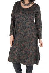 Robe hiver pour femme réveillon imprimée Christmas 300600