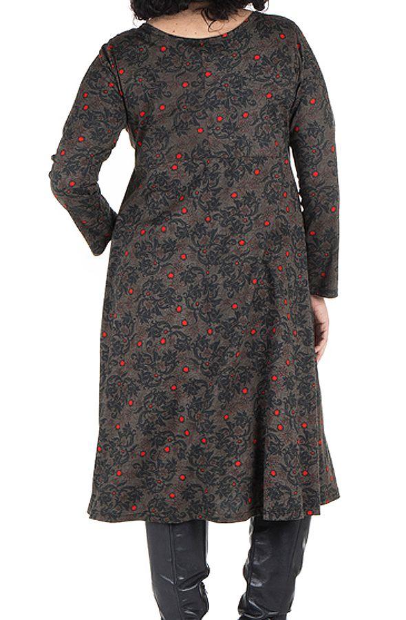 Robe hiver pour femme réveillon imprimée Christmas 300602