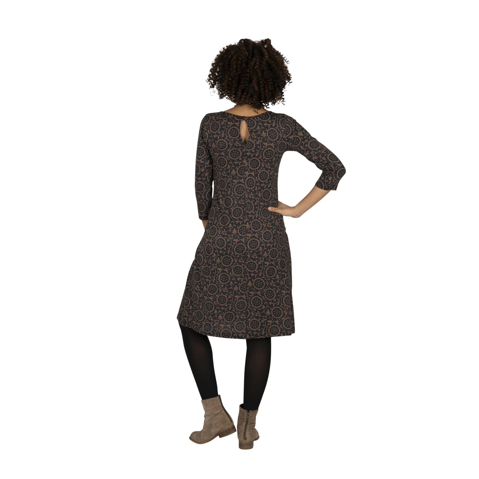 Robe hivernale pour femme avec imprimé original Sansa