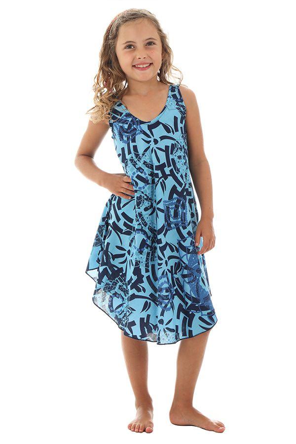 Robe Imprimée Ethnique pour demoiselle très Colorée Marie-Paule 295782