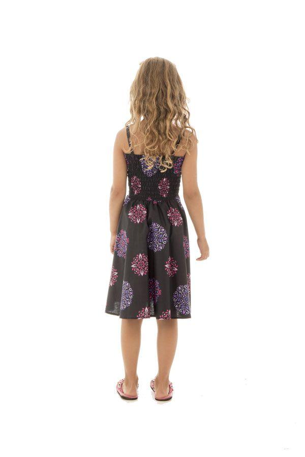 Robe imprimée fantaisie à fines bretelles Holly 294599