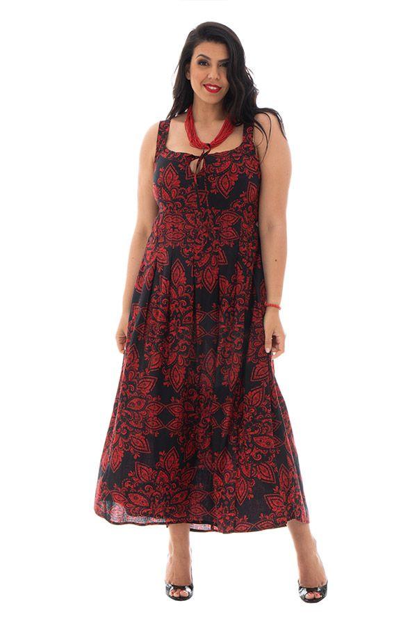 robe longue 100%  coton féminine Marjo 290183